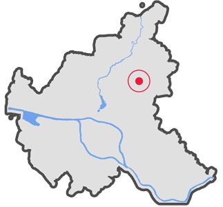 Lageplan Trabrennbahn Farmsen Hamburg